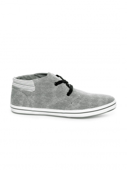 Men Grey Casual Shoes